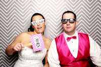 Emily & Will's Wedding Photobooth and Sneak Peaks {Lawrence KS}