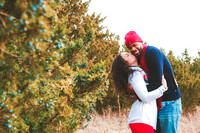 Kyle & Derrell's Holiday Portrait Session 2016