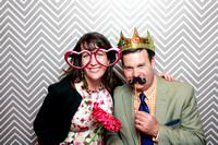 Alyse & Chuck {Lawrence KS Wedding Photobooth at Castle Tea Room}