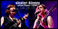 Sleater-Kinney / THEESatisfaction Concert & Party Pics