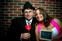 Ashley & Don's Wedding Photobooth {Lawrence KS + Pachamama's}