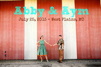 Abby & Aym's Wedding Photobooth & Sneak Peak