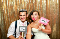 Carly & Alex's Wedding Photobooth & Sneak Peaks