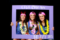 Chi Omega Bid Day Photobooth 2015