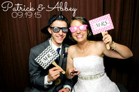 Abbey & Patrick's Wedding Photobooth {Carnegie  Building + Lawrence, KS}