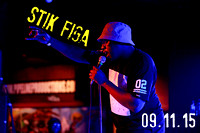Stik Figa @ The Bottleneck 9.11.15