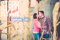 Steph & Ryan's 2nd Anniversary Portrait Session