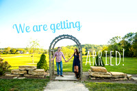 Jennelle & Jake's Engagement Photos ~ Stony Point Hall Baldwin City, KS