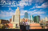 Deon & Travis {1920's Art Deco Inspired Kansas City LGBT Wedding Photography + The Vox}