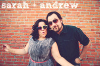 Sarah & Andrew {Lawrence, KS engagement portraits }