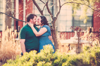 Rita-Marie & Joe {Engagement Portraits + Lawrence KS}