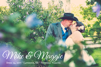 Maggie & Mike {Lawrence, KS wedding photography + Victorian Veranda}