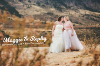 Stephy & Maggie's Pinball Bar Wedding Photos in Fort Collins, CO