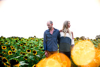 Madison & Sean's Sunflower Session 2020