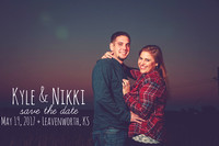 Nikki & Kyle's Engagement Portraits