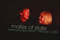 Mates of State at Lawrence Public Library