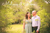 Melissa & Mike's Engagement Portraits {Perry, KS}