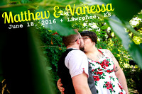 Vanessa & Matthew {LGBT Wedding Photography + Lawrence Kansas}