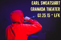 Earl Sweatshirt Party Pics at The Granada {Lawrence KS concert photos}