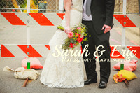 Sarah & Eric {Lawrence, KS Wedding Photos + Danforth + Cider Gallery}