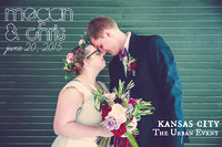 Megan & Chris {Kansas City Wedding Photos + The Urban Event}