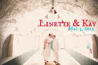 Linette & Kay {Lawrence, KS Wedding Photos + Abe & Jake's}