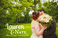 Lauren & Nate {Lawrence KS Wedding Photography + Arterra Event Gallery}