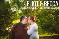 Becca & Elliot {Lawrence, KS LGBT Wedding Photography + Centennial Park}