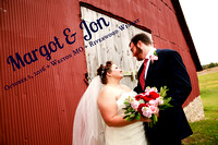 Margot & Jon {Wedding Photography + Weston MO + Riverwood Winery}