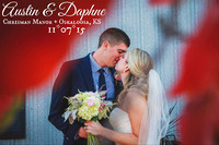 Daphne & Austin {Lawrence KS Wedding Photography  + Chrisman Manor}