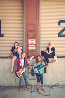 Lawrence Girls Rock Camp 2016 Band Portraits