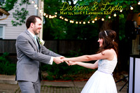 Lyda & Darren {Lawrence KS Wedding Photos + Castle Tea Room}