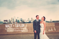Taylor & Matt {Kansas City wedding photos + Union Station & Boulevard Brewing Co.}