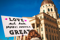 Women's March Topeka, Kansas January 21, 2017