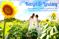 Kevyn + Lindsey {Lawrence KS + LGBT wedding photography + Cider Gallery}