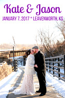 Kate & Jason {Wedding Photos + Leavenworth, KS}
