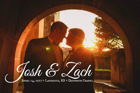 Zach & Josh {Lawrence KS + LGBT Wedding Photography + The W Banquet Hall}