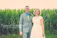 Ursula & Aaron {Lawrence KS Wedding + Train Depot}