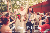 Mallory & Cindy {Kansas City LGBT Wedding Photos at Californos}