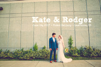 Kate & Rodger {Lawrence KS Wedding Photography + Cider Gallery}