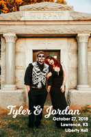 Jordan & Tyler {Halloween Wedding Photos + Liberty Hall + Lawrence, KS}