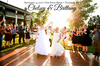 Chelsey & Brittany's Wedding Photos at Old Stone House