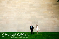 Marie & Clint's Kansas City Skyline Wedding