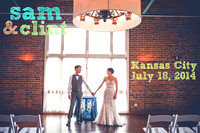 Sam & Clint {Kansas City, MO wedding photography + Californos}