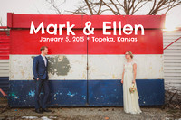Ellen & Mark {Topeka, KS wedding photography + Governor's Row House}