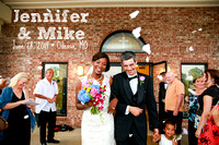 Jennifer & Mike {Odessa, MO wedding photography}