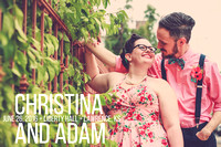 Christina & Adam {Liberty Hall + Lawrence KS Wedding Photos}