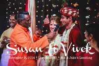 Susan & Vivek {Lawrence, KS wedding photography + Abe & Jake's}