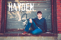 Hayden's Senior Portraits Class of 2017