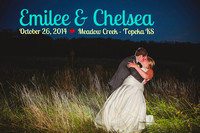 Emilee & Chelsea {Topeka Wedding Photography + Meadow Creek}